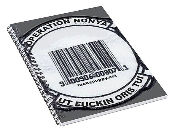 Operation Nonya Spiral Notebook