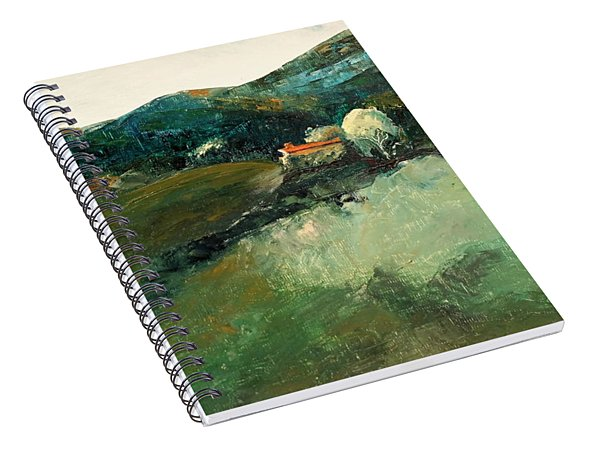 Our Tuscan Villa View Spiral Notebook