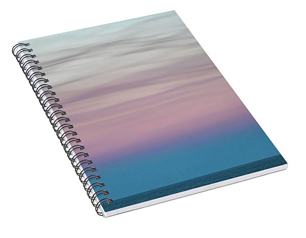 Pastel Clouds Spiral Notebook