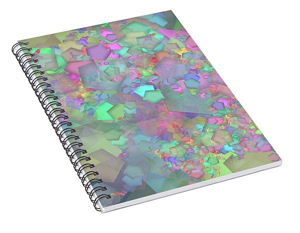 Pentagon Complex Spiral Notebook