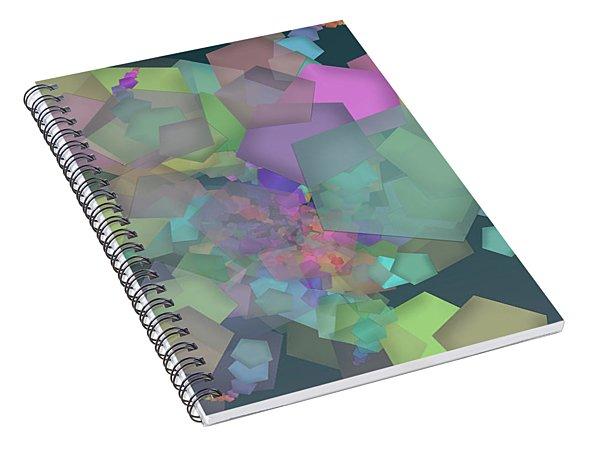 Pentagon Simply Spiral Notebook