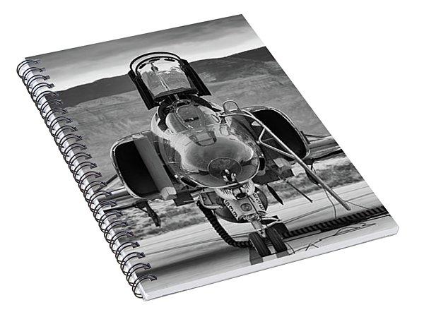 Phantom Phinale Spiral Notebook