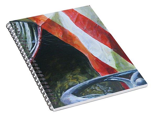 Pieces Spiral Notebook