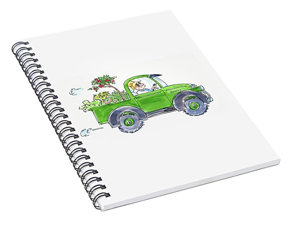 Plant Delivery Spiral Notebook