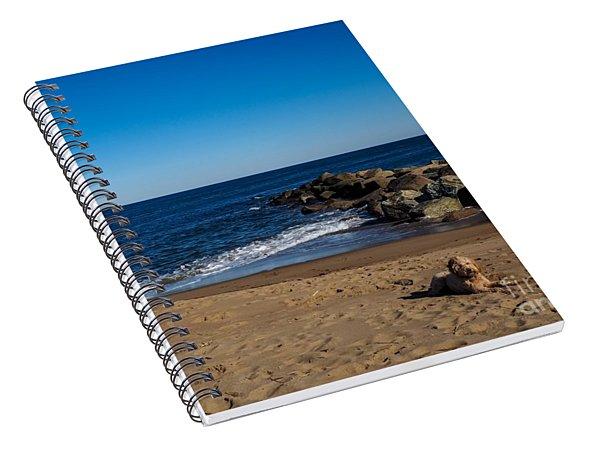 Plum Island Scene Spiral Notebook