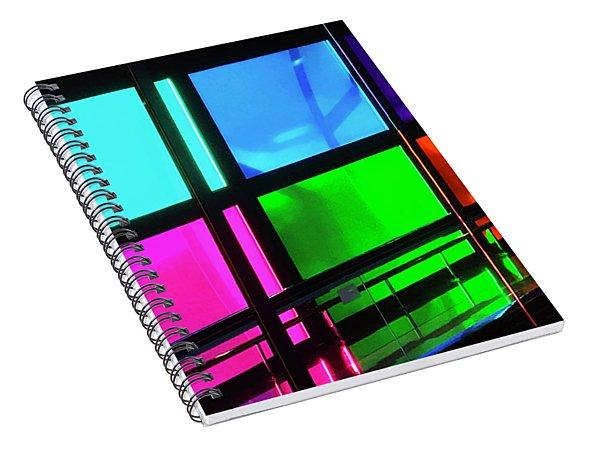 Polychrome Passageway Spiral Notebook