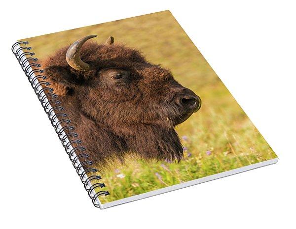 Power Head Spiral Notebook