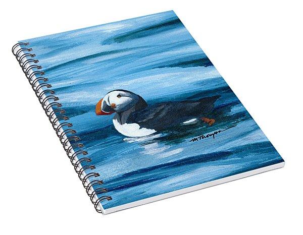 Puffin Spiral Notebook