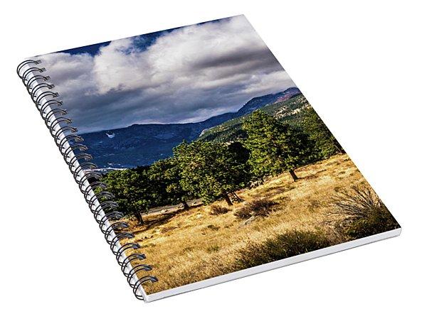 Purple Mountains Spiral Notebook