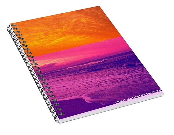 Pyrotechnics Spiral Notebook