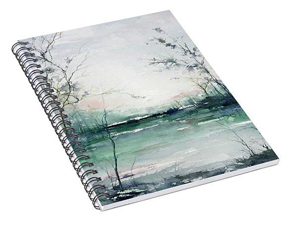 Quiet Waters Spiral Notebook