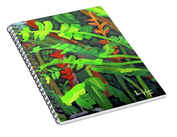 Rain Forest Memories Spiral Notebook