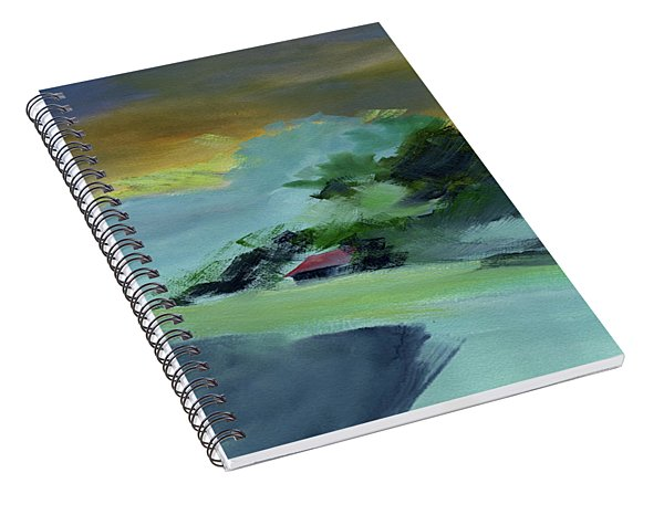 Red House New Spiral Notebook