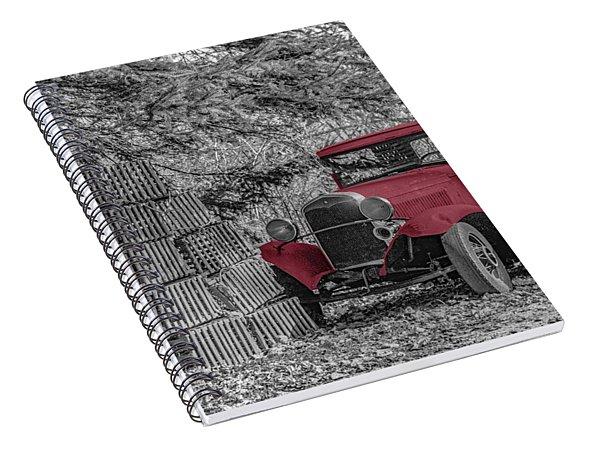 Red Truck Spiral Notebook