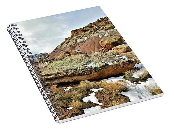 Redland Mesa Near Colorado National Monument Spiral Notebook