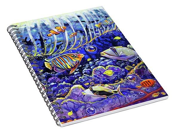 Reef Break Spiral Notebook