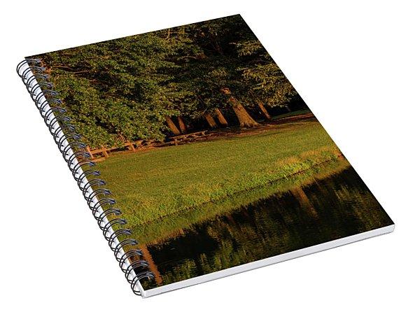 Reflective Contemplation Spiral Notebook