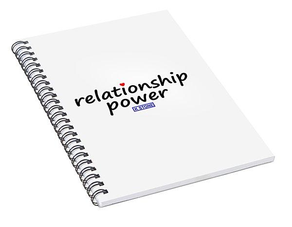 Relationship Power Spiral Notebook