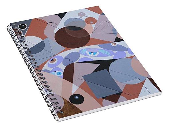 River Of Eyes Spiral Notebook