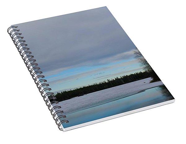 Rivers Wandering Spiral Notebook