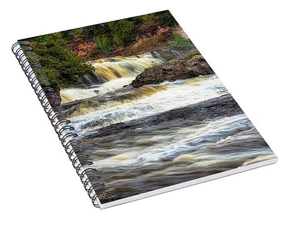 Roaring Gooseberry Falls Spiral Notebook