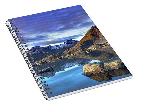 Rock Reflection Landscape Spiral Notebook