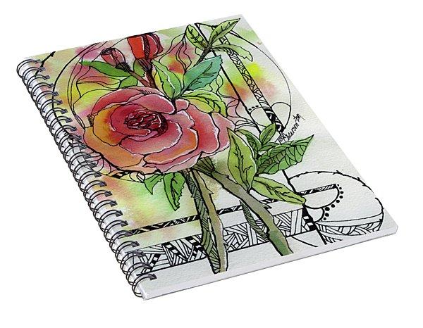 Rose Is Rose Spiral Notebook
