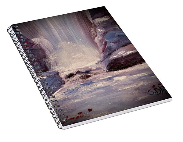 Royal Falls Spiral Notebook