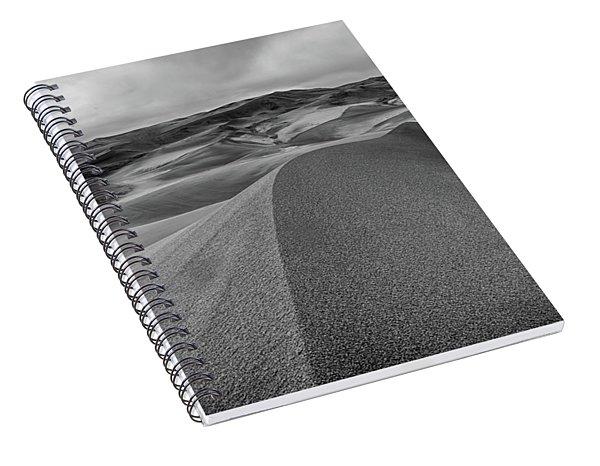 Sand Dune Ridge Spiral Notebook