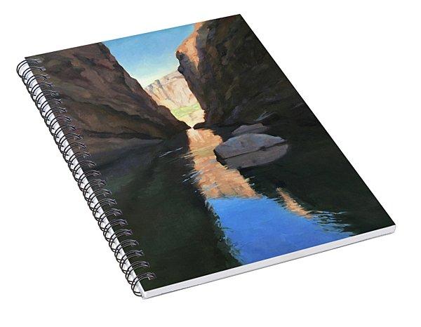 Santa Elena Canyon, Big Bend Spiral Notebook