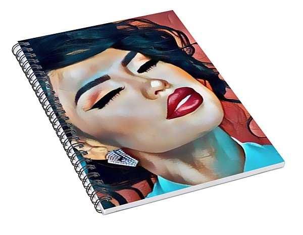 Selena Is Dreaming Of You Spiral Notebook
