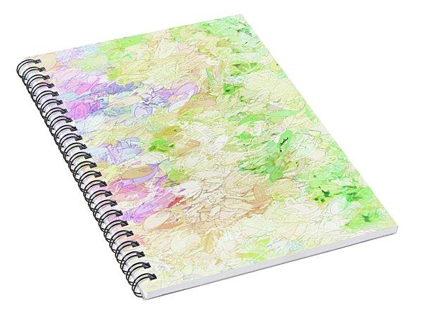 Shades Of Pastel Spiral Notebook