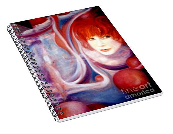 Shirley Incarnate Spiral Notebook