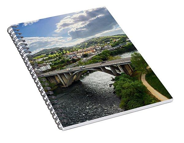 Sights From The Millennium Bridge Spiral Notebook
