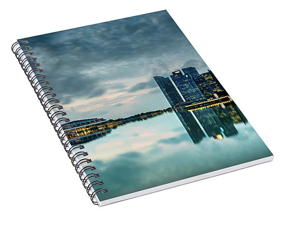 Singapore Lighst Spiral Notebook