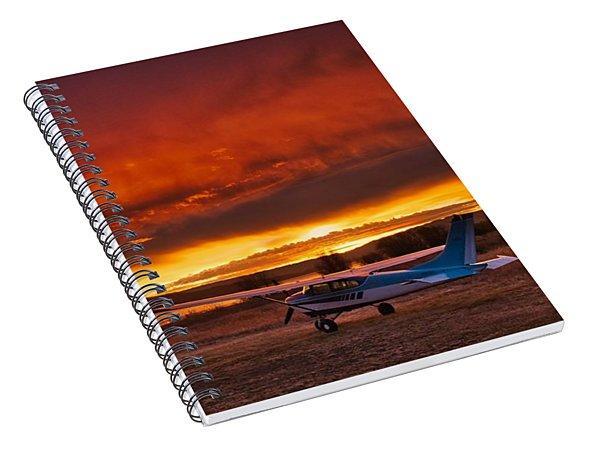 Skylane Sunrise Spiral Notebook