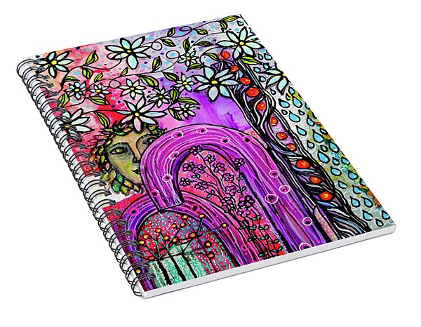 Something About Spring Spiral Notebook