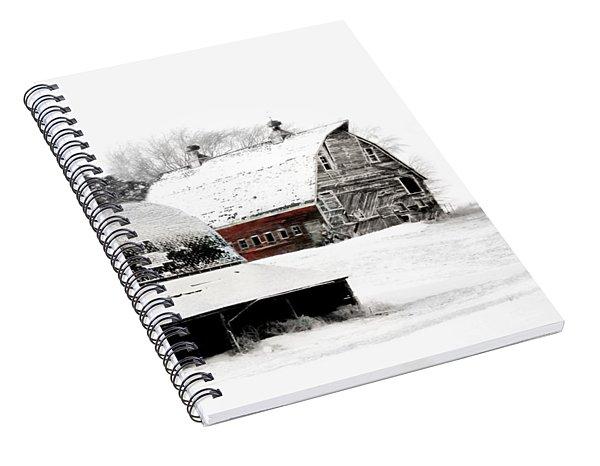 South Dakota Farm Spiral Notebook