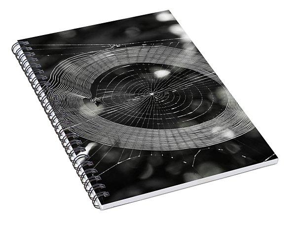 Spinning My Web Spiral Notebook