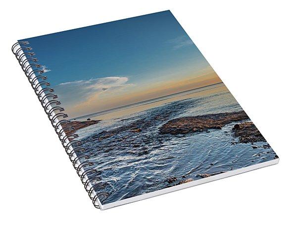 Spring At Hurricane River Spiral Notebook