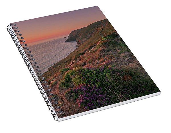 St Agnes Sunset Spiral Notebook