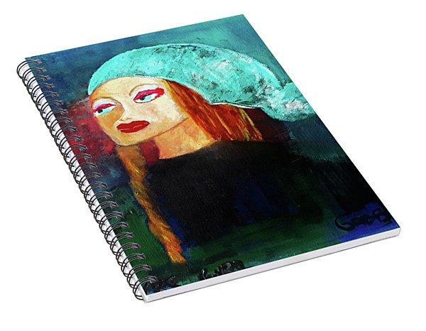 Starbucks Girl Spiral Notebook