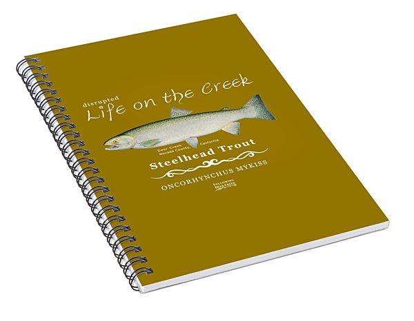 Steelhead Trout Spiral Notebook