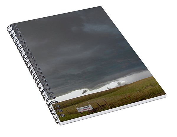 Storm Chasin In Nader Alley 016 Spiral Notebook