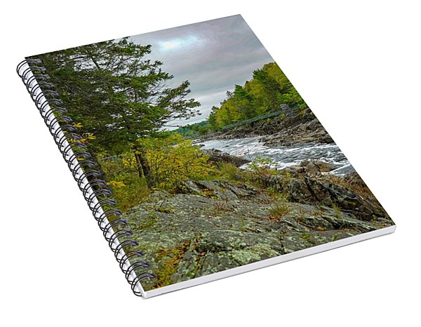 Storm Clouds At Jay Cooke Spiral Notebook
