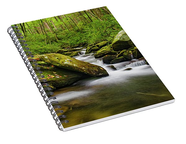 Stream Of Time Spiral Notebook
