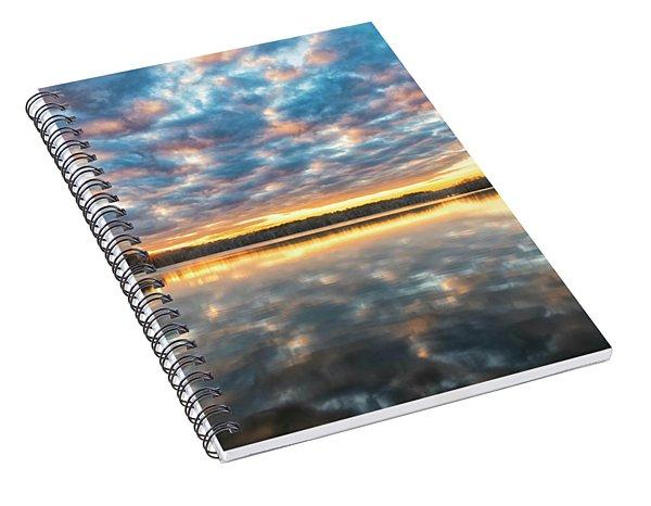 Stumpy Kinda Of Reflection Spiral Notebook