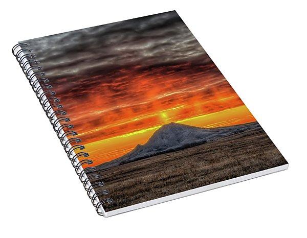 Sunday Sunrise Nov. 11, 2018 Spiral Notebook