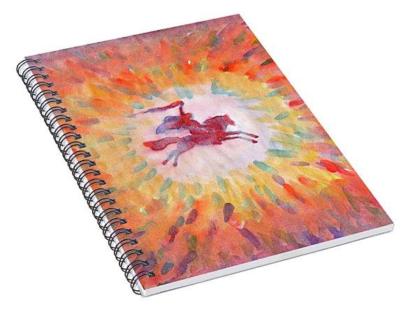 Sunny Rider Spiral Notebook