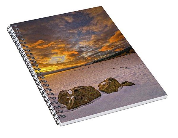 Sunrise Rocks Spiral Notebook